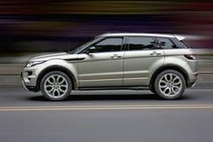 Automobile sportiva SUV Fotografia Stock