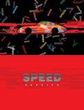 Automobile sportiva veloce Fotografia Stock