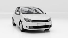 Automobile in studio Fotografia Stock Libera da Diritti