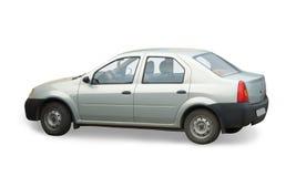 Automobile su bianco Fotografia Stock Libera da Diritti