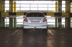 Automobile su parcheggio Immagini Stock Libere da Diritti