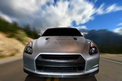 Automobile sulla strada fotografie stock libere da diritti
