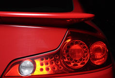 Automobile taillight Stock Images