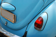 Automobile tedesca blu dell'annata Immagini Stock Libere da Diritti