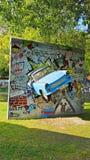 Automobile tedesca della Germania Est Fotografie Stock