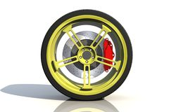 Automobile tire Royalty Free Stock Images