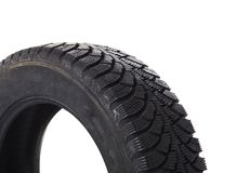 Automobile tire Stock Photo