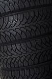 The automobile tire as a background Stock Photo