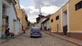 Automobile tradizionale in Trinidad Fotografia Stock Libera da Diritti