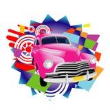 Automobile tropicale dell'annata Fotografia Stock Libera da Diritti