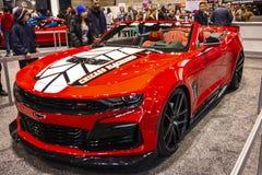 Automobile ufficiale di Chicago Blackhawks immagini stock