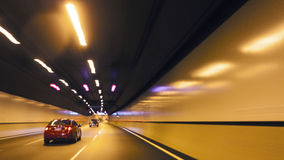 Automobile underpass Royalty Free Stock Image