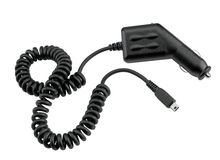 Automobile USB charger for phones, PDA, etc. Stock Photography