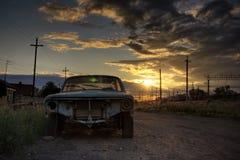 automobile vecchia Fotografie Stock Libere da Diritti