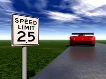 Automobile veloce 4 Immagine Stock