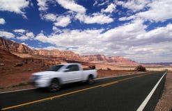 Automobile veloce Immagini Stock