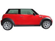 Automobile veloce rossa Immagini Stock