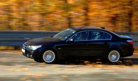 Automobile a velocità Fotografia Stock Libera da Diritti
