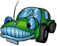 Automobile verde Immagine Stock
