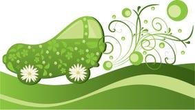 Automobile verde Fotografie Stock Libere da Diritti