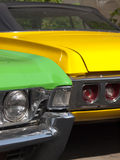 Automobile von den Sechzigern Stockfotos