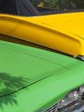 Automobile von den Sechzigern Lizenzfreies Stockbild
