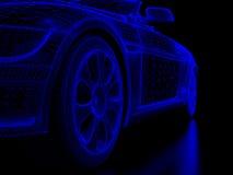 Automobile wheel Stock Photo
