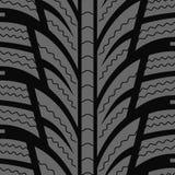Automobile winter tire Royalty Free Stock Photo
