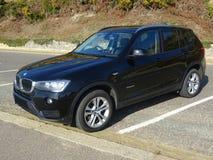 Automobile xDrive di BMW Immagine Stock Libera da Diritti
