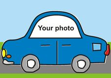 Automobile for your photo Stock Photography