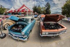 Automobiles de vintage Photographie stock