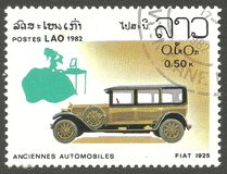 Automobiles, Fiat Images stock