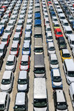 Automobiles neuves Image stock