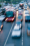 Automobiles trip traffic Stock Photo