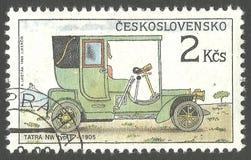 Automobiles, type E de Tatra nanowatt Image stock