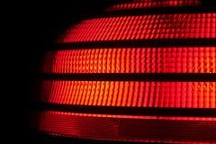 automobiletaillampa royaltyfria bilder