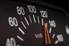 Automobilgeschwindigkeitsmesser Stockfotografie