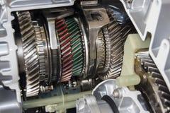 Automobilgetriebe Stockbild