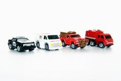 automobili 1980 del giocattolo Fotografie Stock