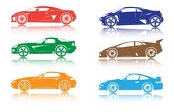 Automobili royalty illustrazione gratis