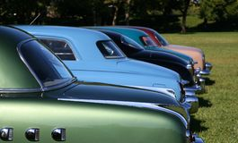 Automobili antiche fotografie stock