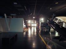 Automobili antiche al museo dell'automobile a Torino Fotografia Stock