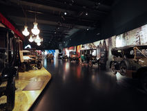 Automobili antiche al museo dell'automobile a Torino Immagini Stock