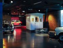 Automobili antiche al museo dell'automobile a Torino Fotografie Stock Libere da Diritti
