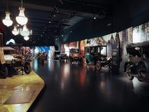 Automobili antiche al museo dell'automobile a Torino Immagine Stock