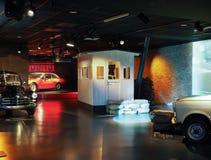 Automobili antiche al museo dell'automobile a Torino Fotografie Stock