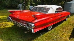 Automobili antiche classiche d'annata, Cadillac Fotografia Stock Libera da Diritti