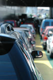 Automobili attendenti Fotografie Stock