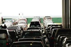 Automobili attendenti Fotografia Stock Libera da Diritti