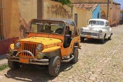 Automobili classiche Immagini Stock